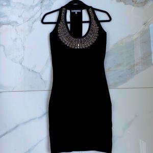 WOW COUTURE black bodycon bandage dress